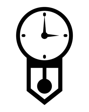 Pendulum clock Stockfoto