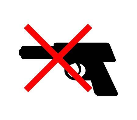 Ban holding guns 版權商用圖片