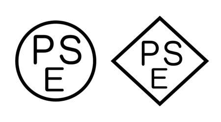 PSE mark Stock fotó