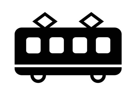 Mark of the train.