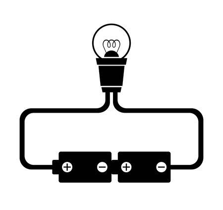 How to connect bean light bulbs Stock fotó - 131640266