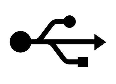Mark of USB Stok Fotoğraf