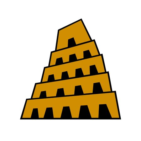Tower of Babel 스톡 콘텐츠