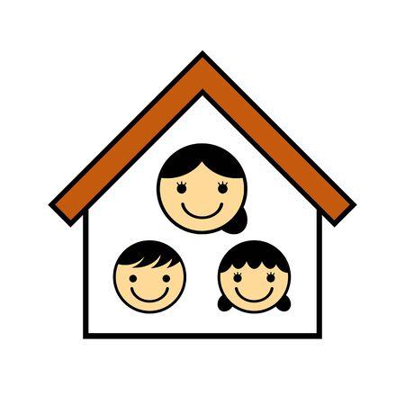 Fatherless family