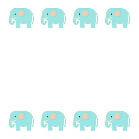 Frame of the elephant