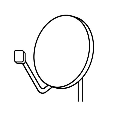 Parabolic antenna Stock fotó