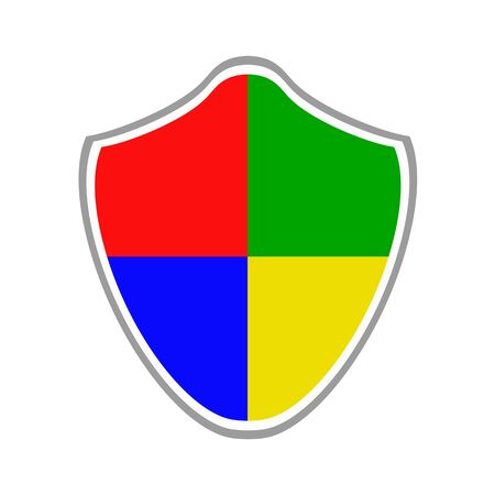 Mark of security shield.