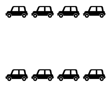 Frame of the car