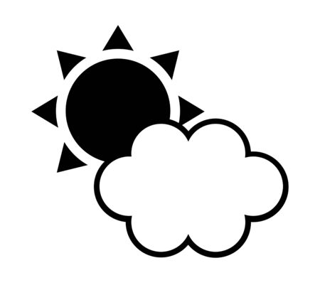 Icon of a weather. Stock fotó