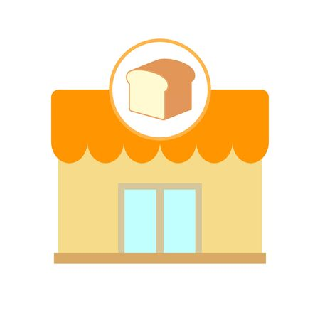 Illustration of a bakery