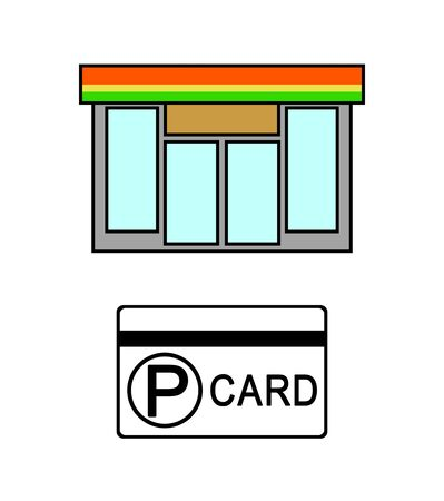 Convenience store and point card