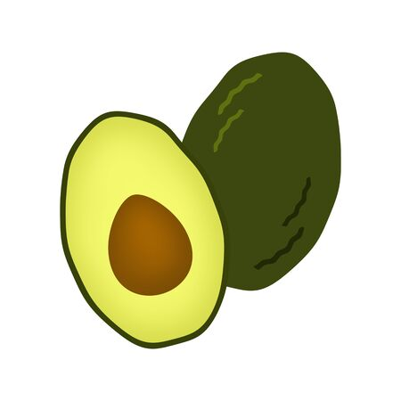 The aspect of the avocado.