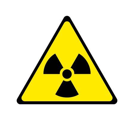 Mark of radioactivity