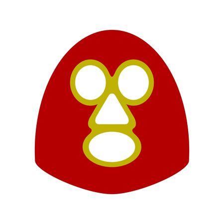 Mask surface for wrestling