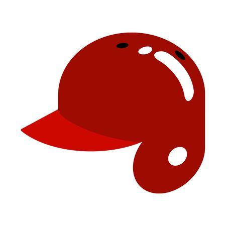 Helmet of baseball