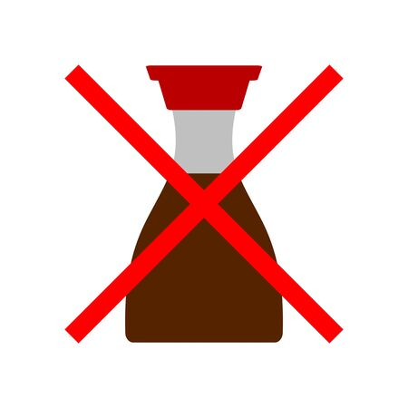 Prohibited from using soy sauce