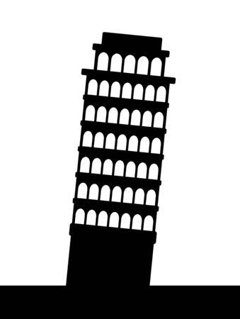 Leaning Tower of Pisa 写真素材