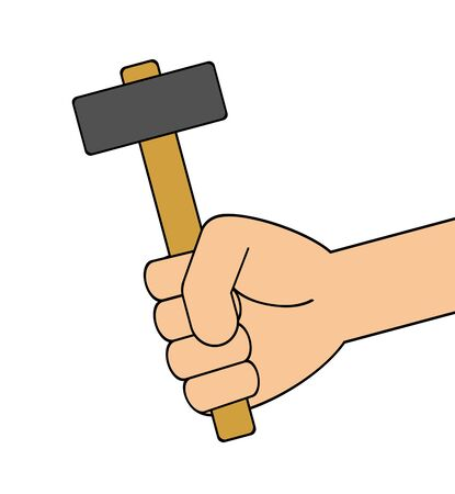 Hand with Hammer.