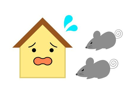 Rats and scared houses