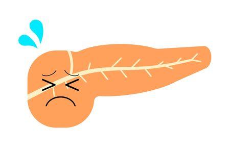 Sickness of a pancreas