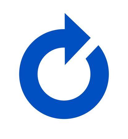 Mark of reload. Banco de Imagens