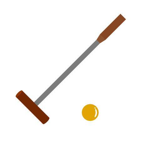 Tool of a gate ball 写真素材