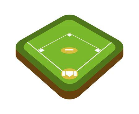 Baseball board Banco de Imagens - 132515416