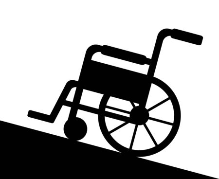 The Wheelchair Which Climbs a Slope.