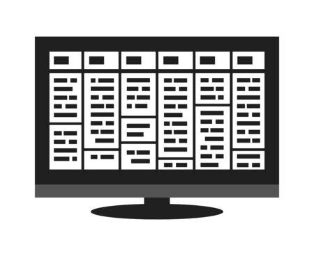 Electronic Program Guide Reklamní fotografie