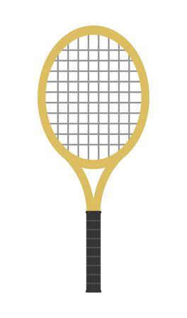 Tennis racket 写真素材