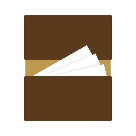 Business card case Banque d'images - 133092292