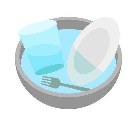 Tableware wash