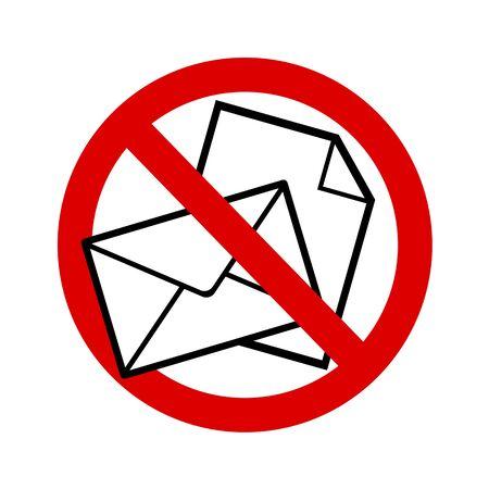 Mailing prohibited