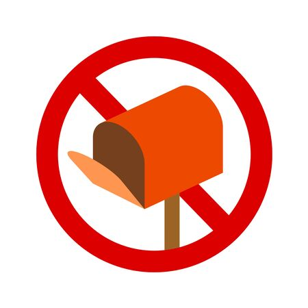 Mailing prohibited mark