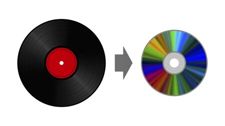 Copy from record to disk.