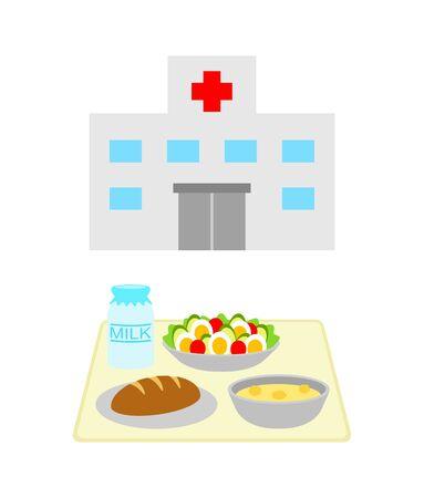 Hospital food Reklamní fotografie - 133373960