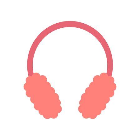 Pink ear pad