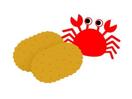 Crab croquette
