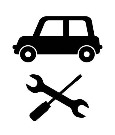 Repairing of a car