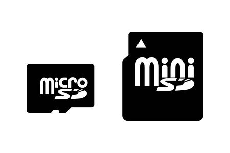 Two types of SD card