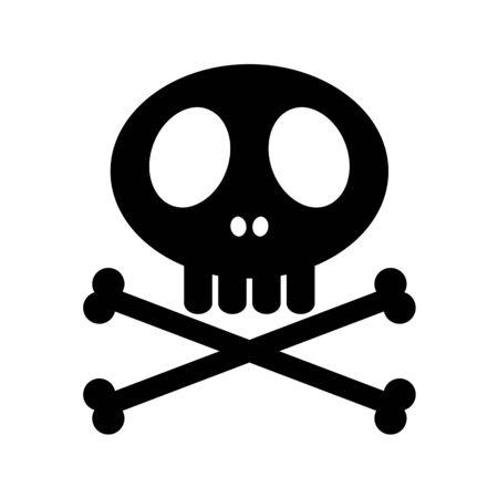 Skull mark Imagens