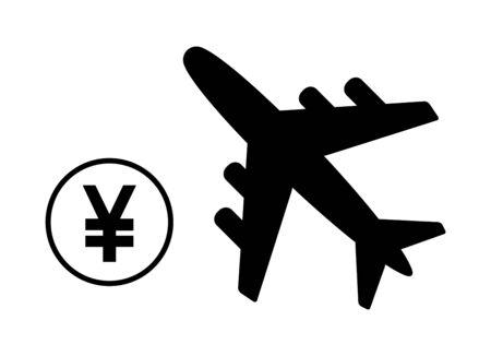 Image of airplane fee