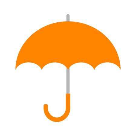 The orange umbrella Imagens