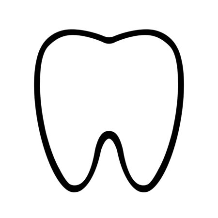 The shape of the tooth