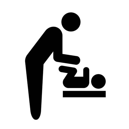 Pictogram of baby seat