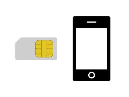 SIM card and smart phone