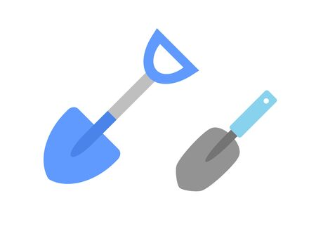 Two kinds of shovel Banco de Imagens - 134335564