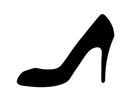 The Silhouette of the High-Heels