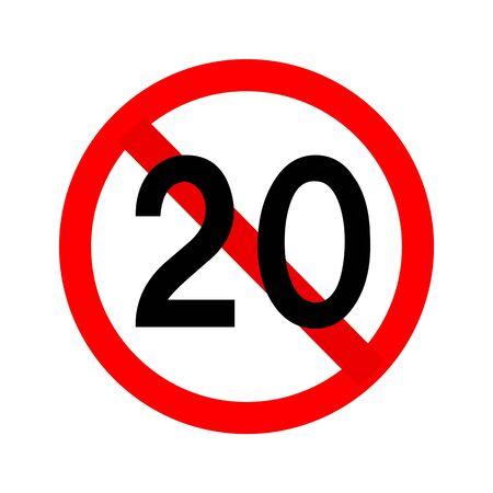 We are prohibited under 20 years old