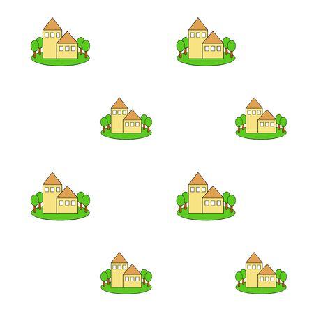 Background of housing Reklamní fotografie